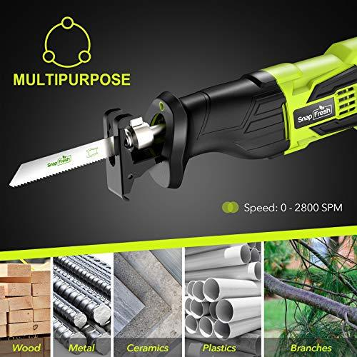 cordless reciprocating saw purchased through discount online shopping sites